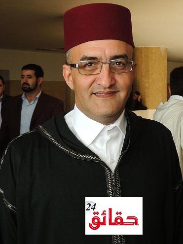 صورة حوار مع ذ عز الدين الخو رئيس المحكمة الابتدائية بانزكان