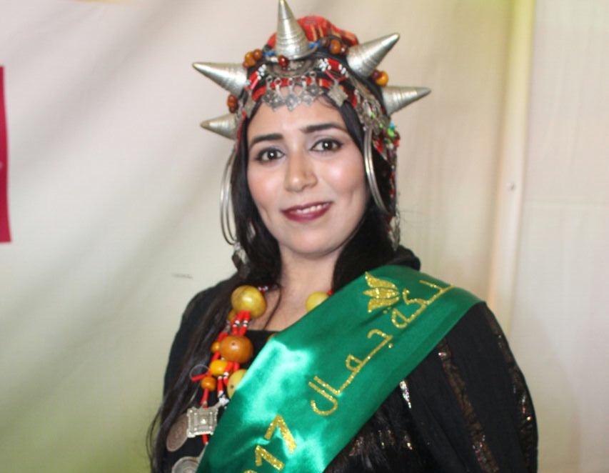 """صورة حنان بوفريوة ملكة جمال الصبار بوفريرو """" لـحقائق24″: أنا مستعدة للمشاركة ودعم كل عمل خير"""