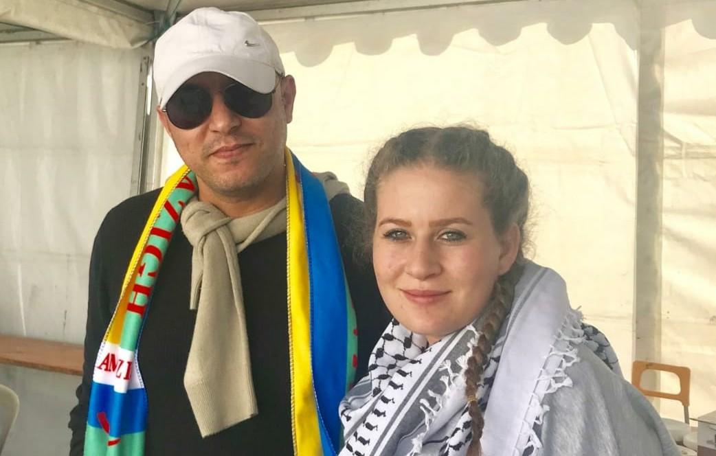 صورة أكلدون : هذا موقفي من فلسطين والبراهمة أساء للمغرب