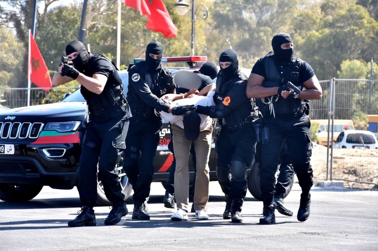 صورة تعيين العميد أيت سعيد رئيسا لفرقة مكافحة العصابات بأكادير