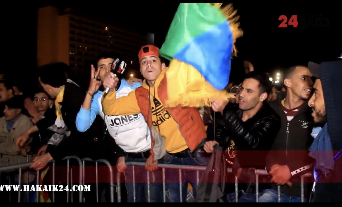 صورة من قلب الدار البيضاء .. جماهير  ومحبي الحسنية  تنتفض و تطالب برحيل فاخر