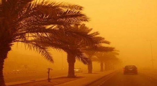 صورة مديرية الأرصاد : زوابع رملية وإرتفاع درجات الحرارة بدءا من غذٍ الثلاثاء بهذه المدن