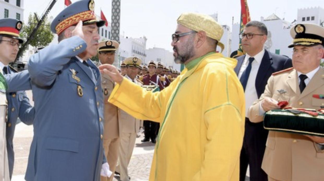 صورة الأمن و الدرك المغربي يسهران على تأمين كاس العالم بقطر
