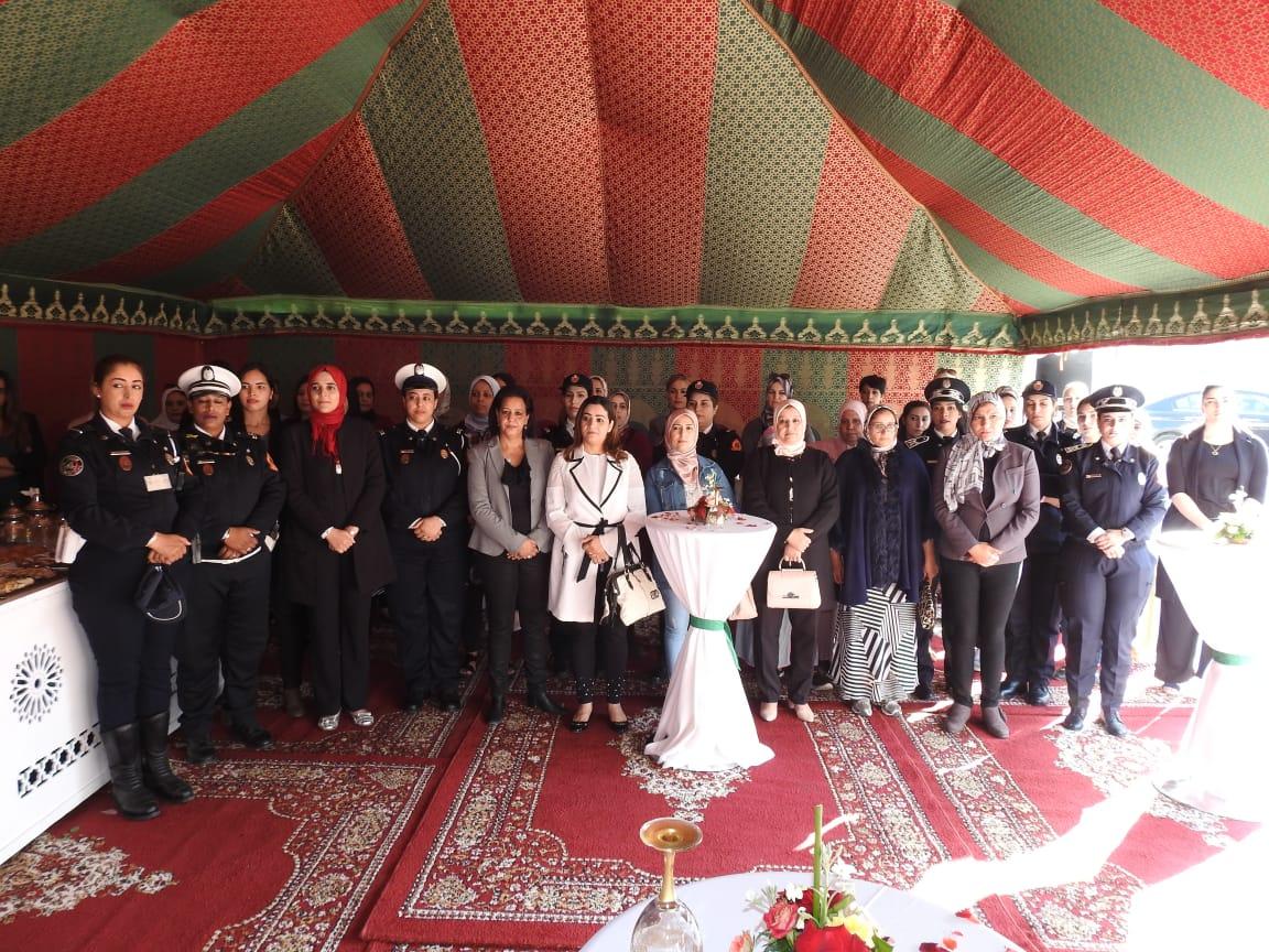 صورة ولاية أمن أكادير تحتفي بالشرطيات في اليوم العالمي للمرأة