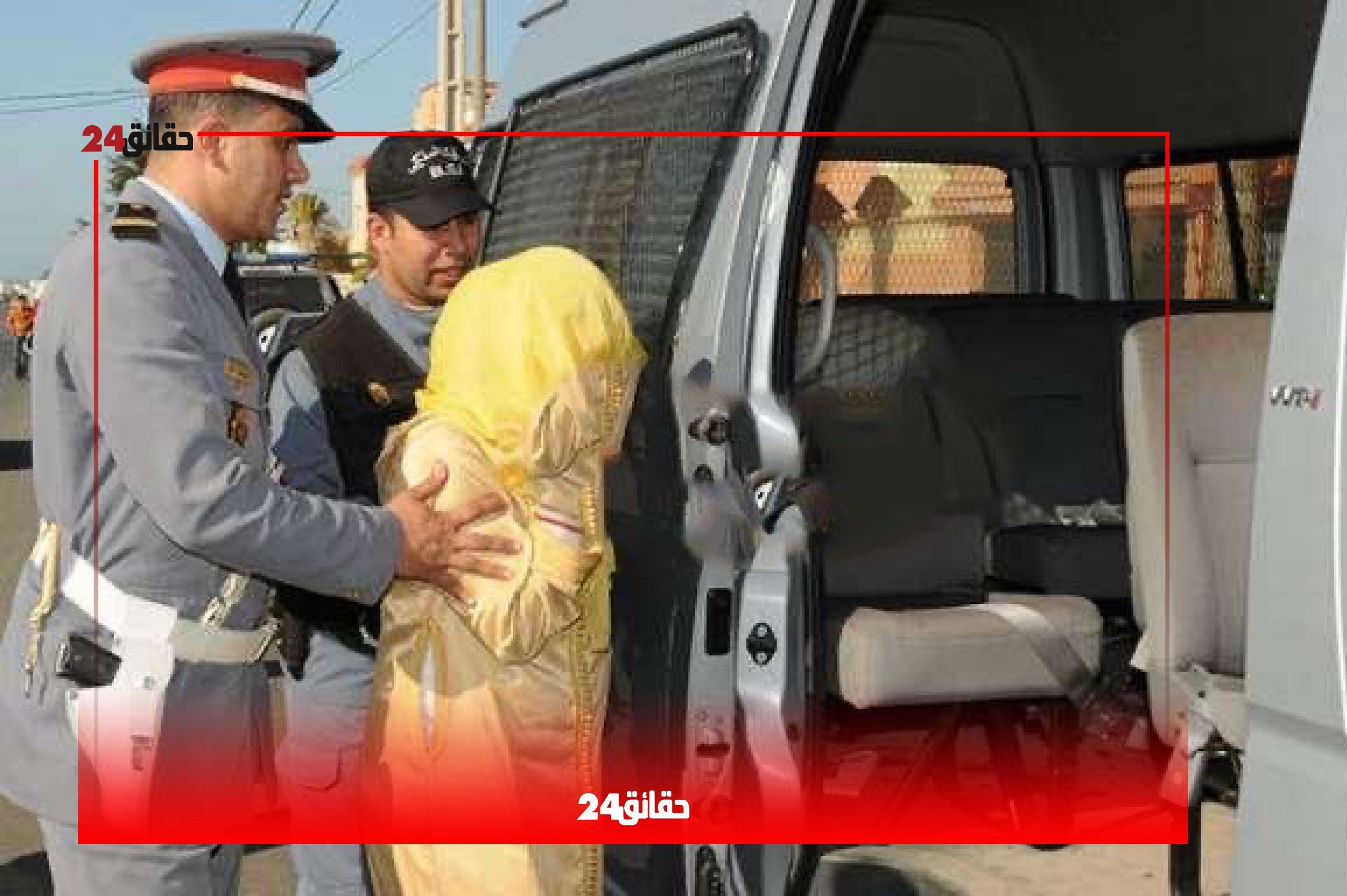 صورة رغم الحجر الصحي .. اعتقال إمرأة متزوجة رفقة خليلها بتارودانت