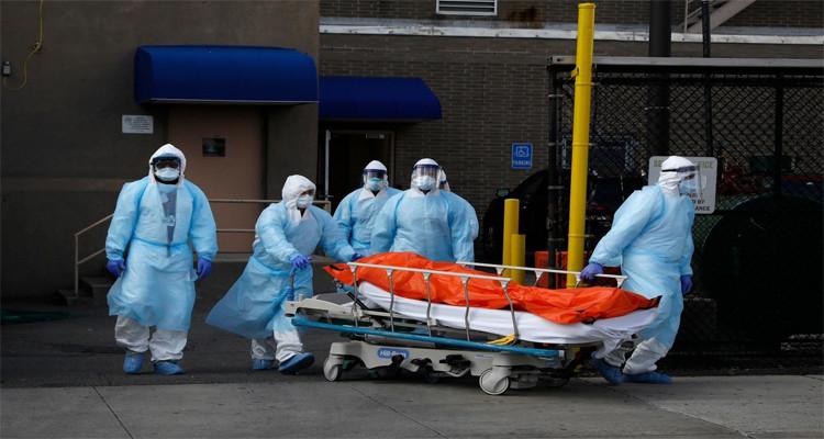 صورة أمريكا ..2.700 وفاة جراء وباء كورونا في ظرف 24 ساعة