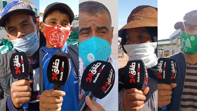 صورة دكتور صيدلي بحي النصر بالبيضاء يوزع الكمامات والمعقم مجانا بالسوق النمودجي