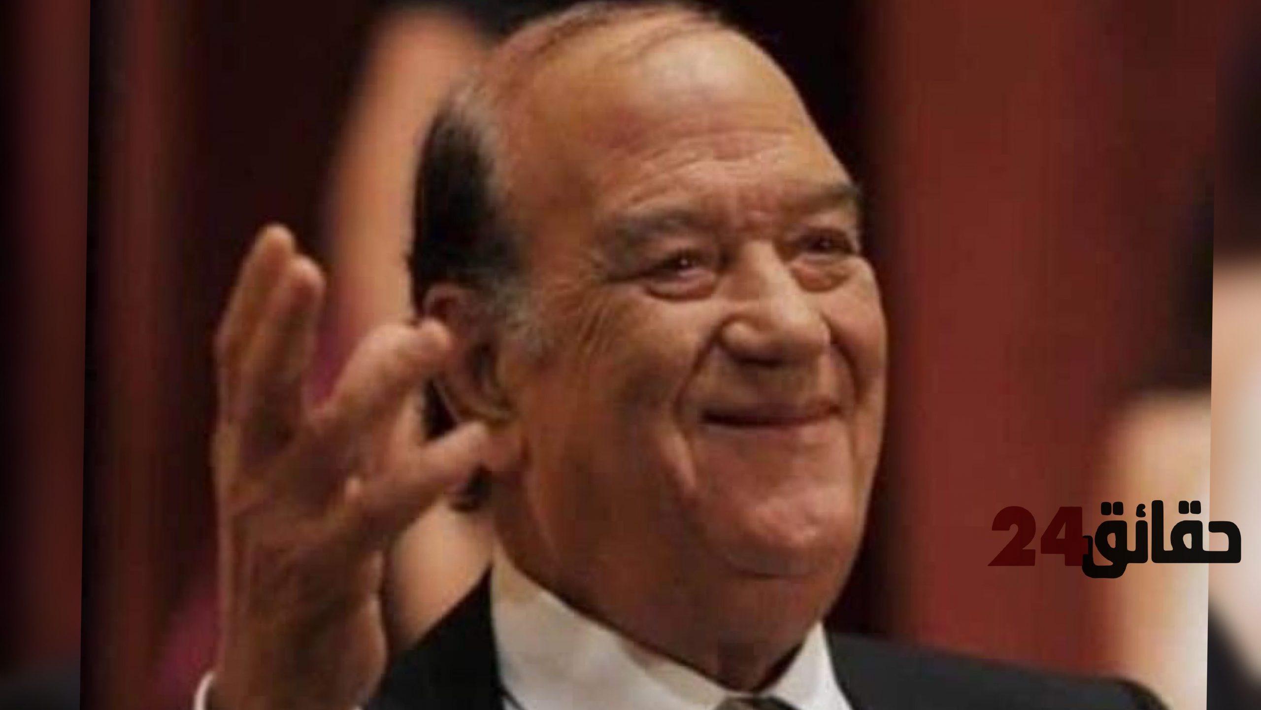 صورة وفاة الفنان المصري الكبير حسن حسني