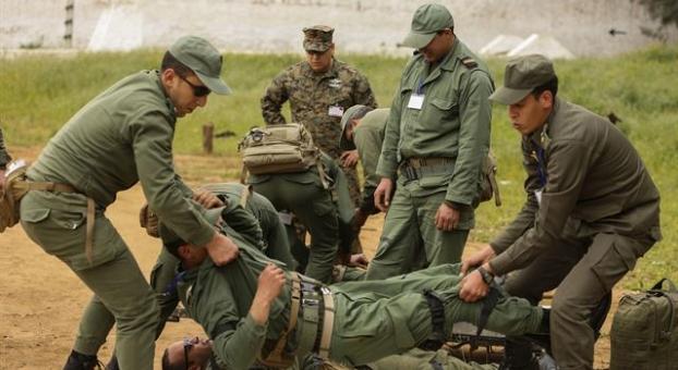 صورة تبادل إطلاق النار بين جنديين يستنفر الأجهزة الأمنية والعسكرية