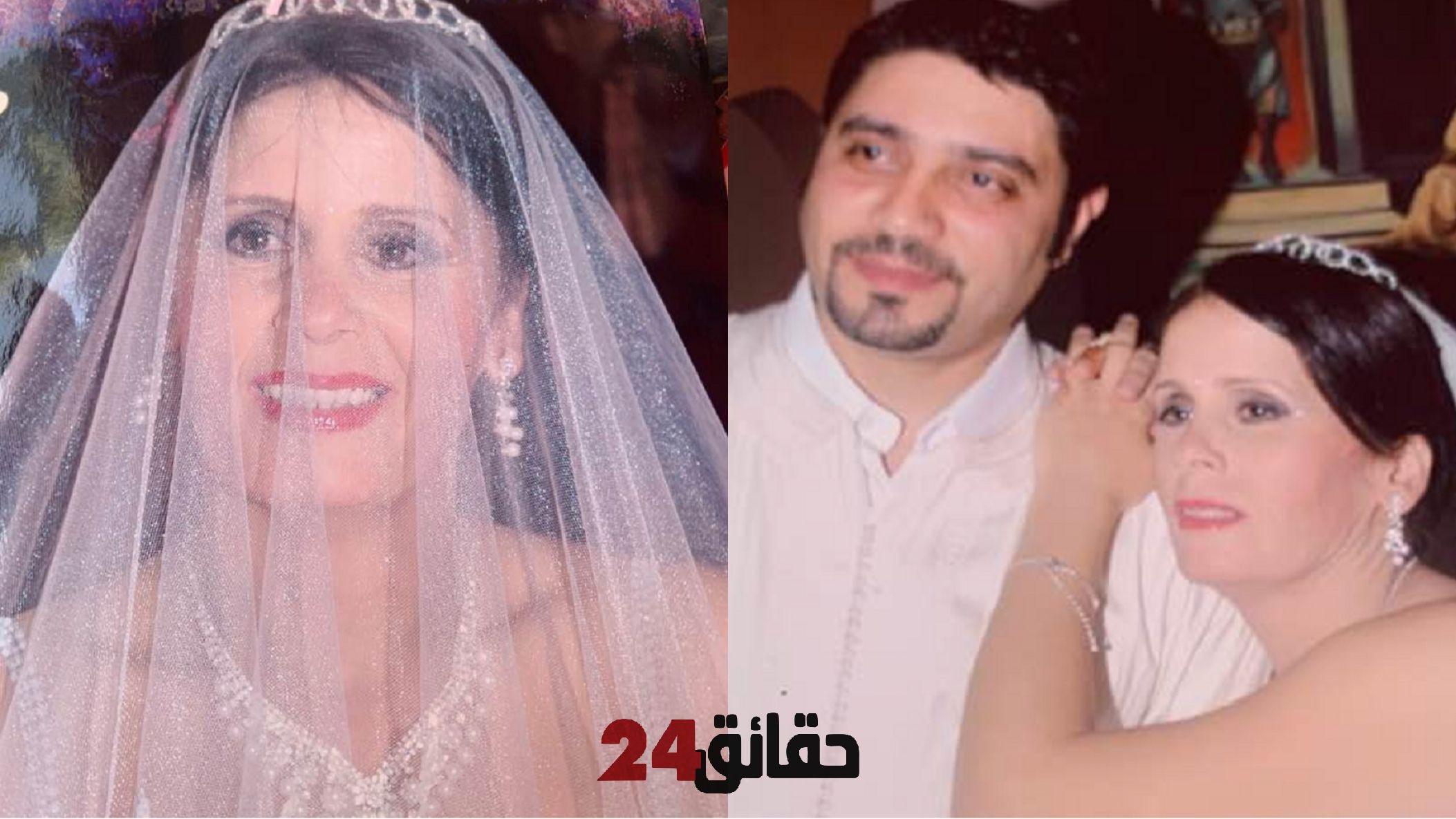صورة الإعلامية بلعوشي تفاجئ متابعيها بـصور زفافها مع رجل أعمال مصري