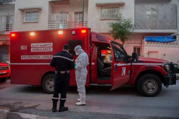 صورة إصابة سائق طاكسي تعيد كورنا إلى أسفي من بوابة النقل الطرقي