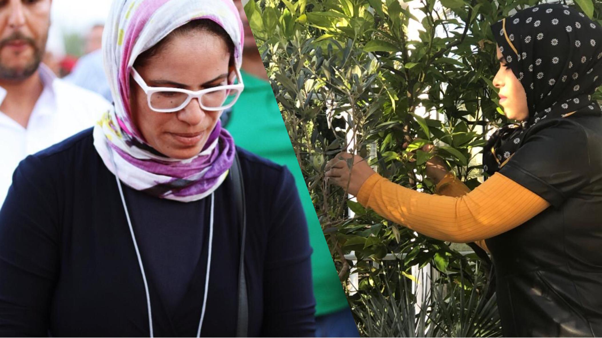 صورة حوار .. القبلاوي سوسية ننقل خبرتها البيئية من ألمانيا إلى تارودانت
