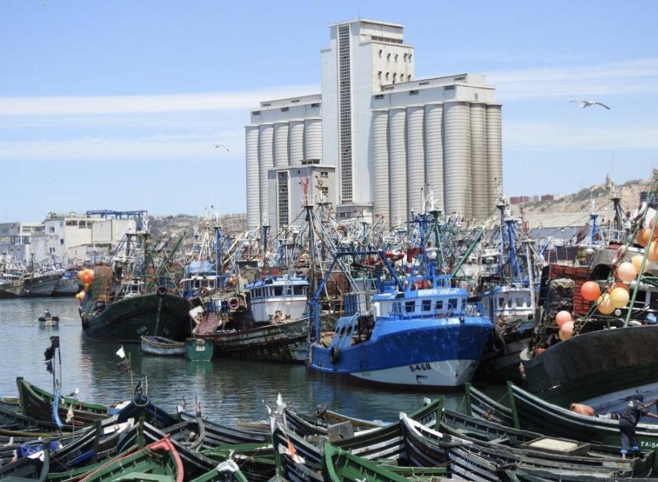 """صورة اختفاء قارب """"الركراكية 3"""" يثير مهنيي الصيد التقليدي بأسفي"""