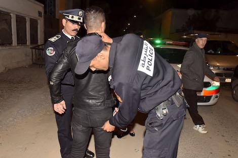 صورة اعتقال ثلاثيني حاول قتل شرطي