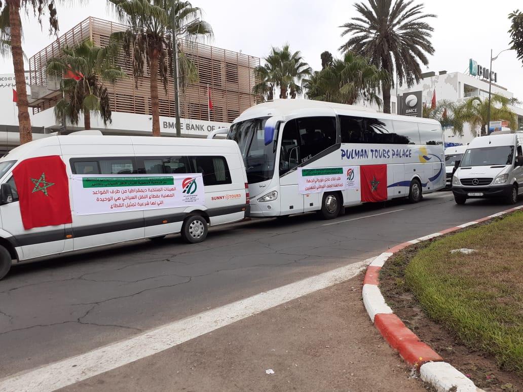صورة أرباب النقل السياحي بأكادير يدخلون في إضراب مفتوح