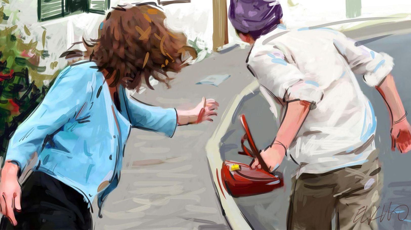 صورة لص يتسبب في وفاة سيدة ثلاثينية أثناء سرقتها بمراكش
