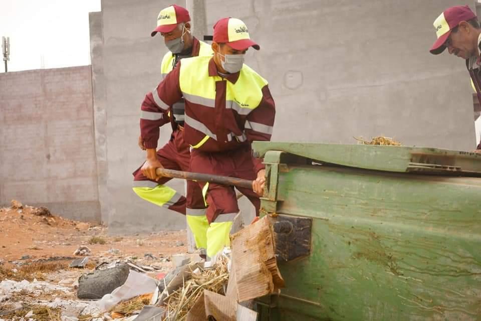 صورة جماعة القليعة: جمع أزيد 340 طن من النفايات طيلة فترة عيد الأضحى