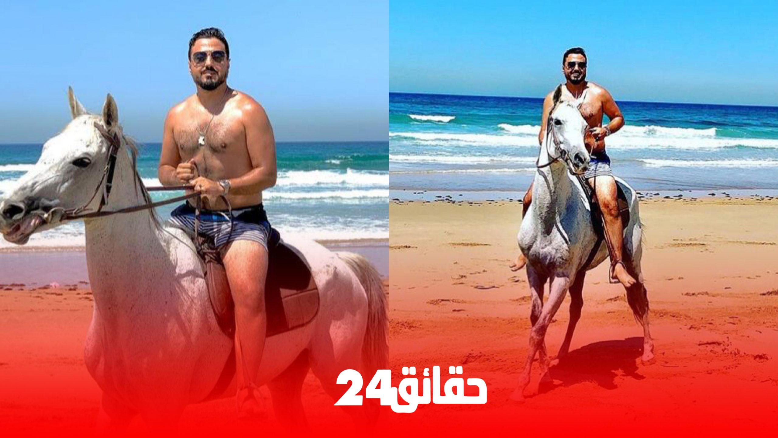 صورة اعتقال رشيد العلالي بتهمة خرق الحظر الصحي بمدينة طنجة