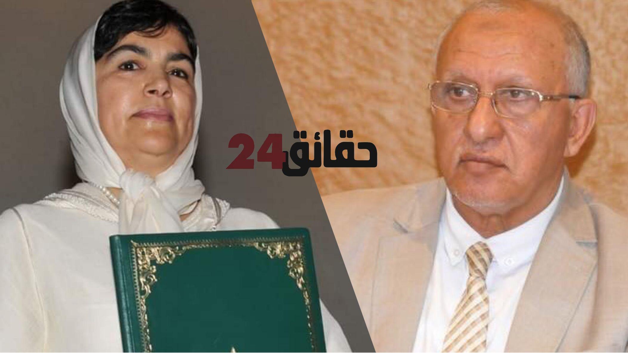 صورة المالوكي أمام قاضي التحقيق على خلفية تقارير زينب العدوي