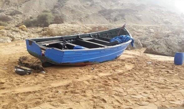 صورة مافيا التهجير السري و المخدرات تتخلص من قارب جديد بأسفي
