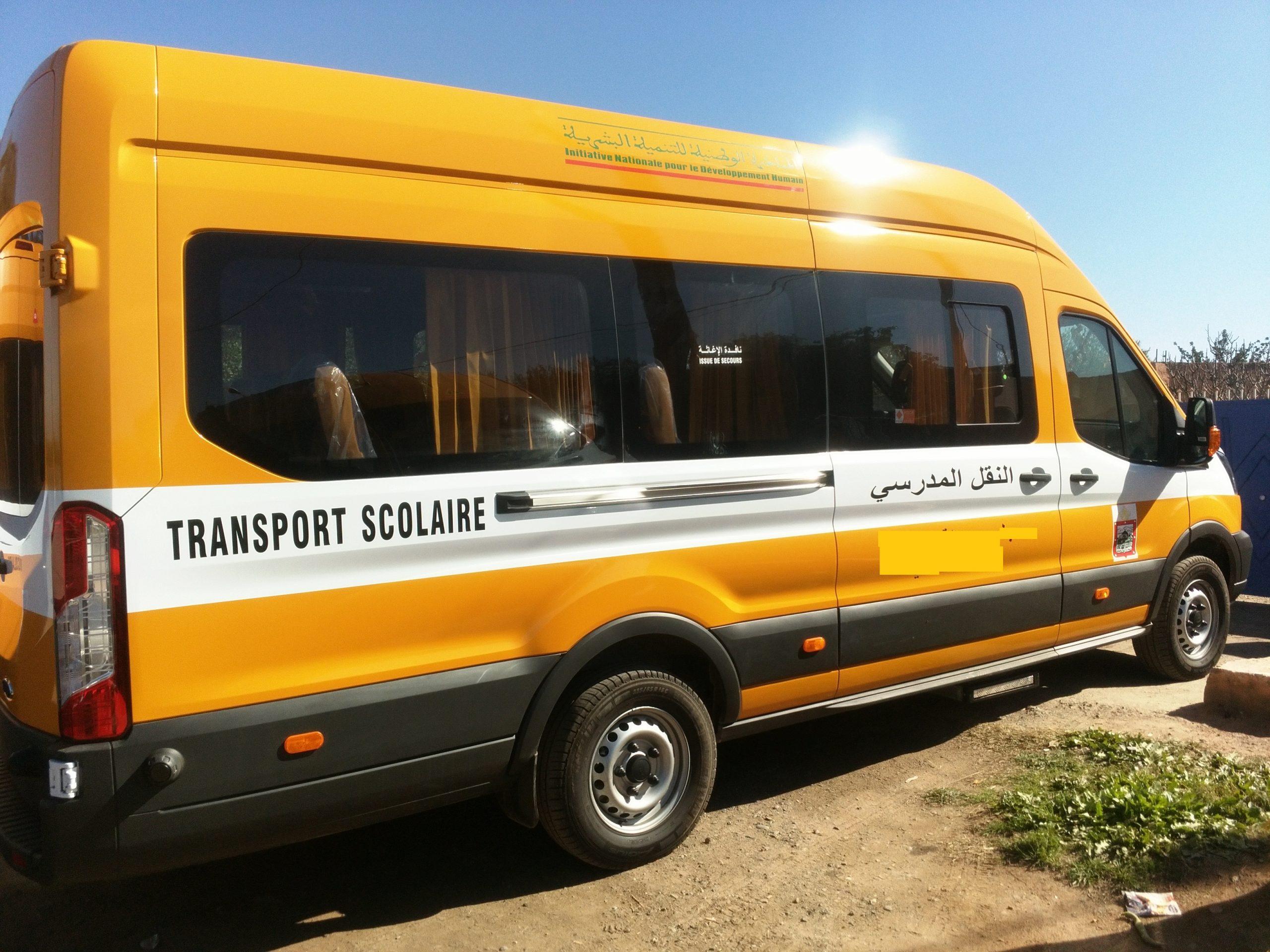 صورة اعتقال سائق حاول اغتصاب تلميذة داخل حافلة للنقل المدرسي