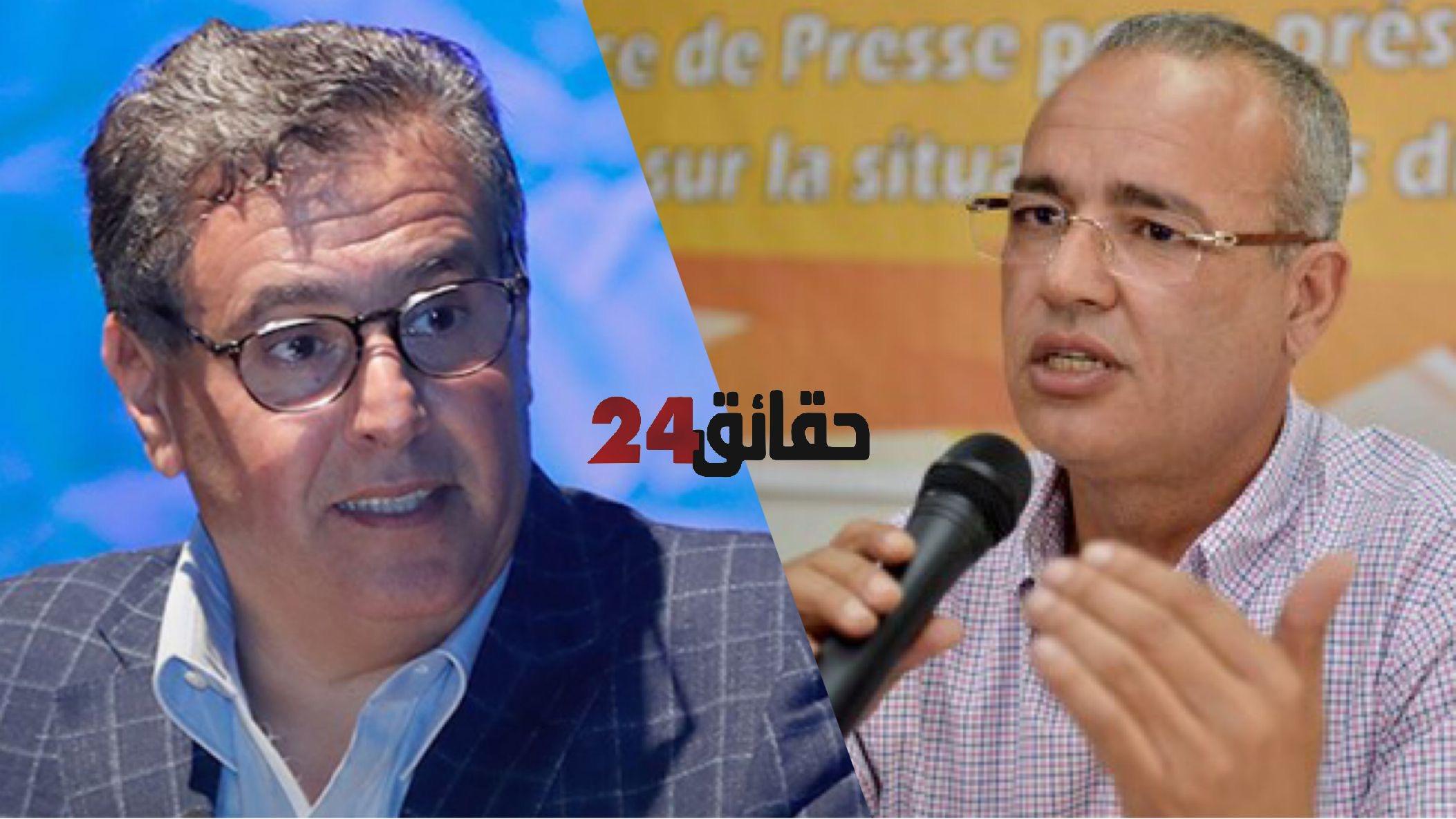 صورة حقوقي يفجرها : شركة تابعة لأخنوش تربح الملايير بسبب احتكارها بيع الأوكسجين للمستشفيات المغربية