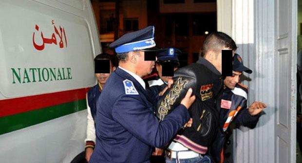 صورة اعتقال قاصر بثر يد حارس ليلي بالدار البيضاء