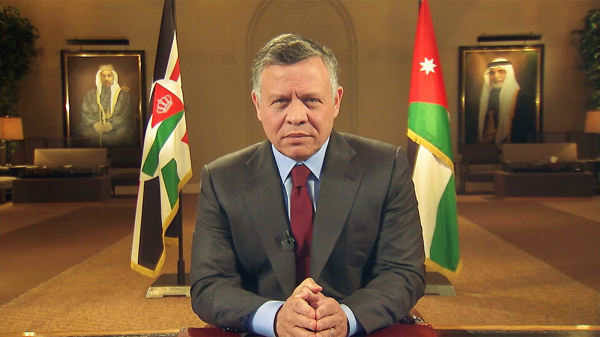 صورة ملك الأردن يقرر حل البرلمان