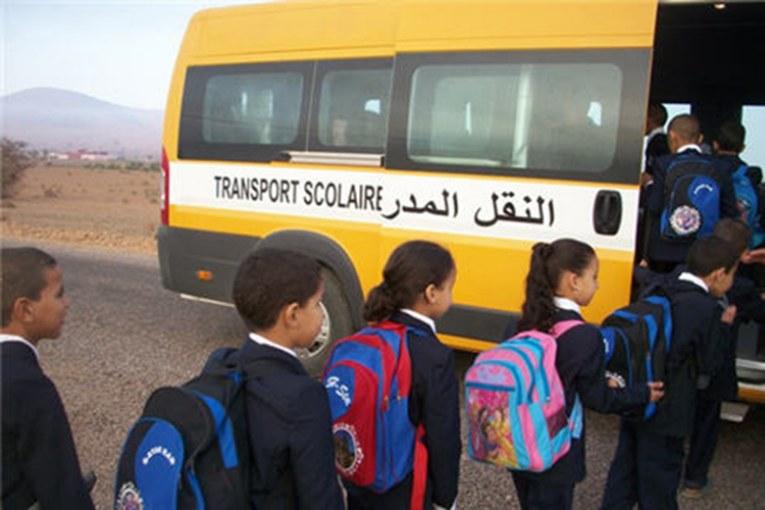 صورة أولاد تايمة   صراعات سياسية تحرم مئات التلاميذ بجماعة الكدية البيضاء من النقل المدرسي