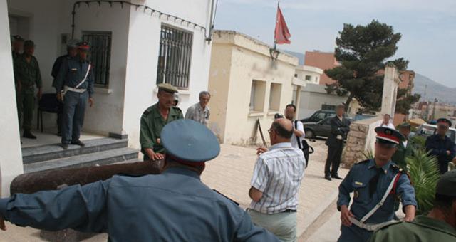 صورة اعتقال دركي و سقوط الرأس المدبر لعملية تهريب 5 أطنان من الشيرا بأسفي