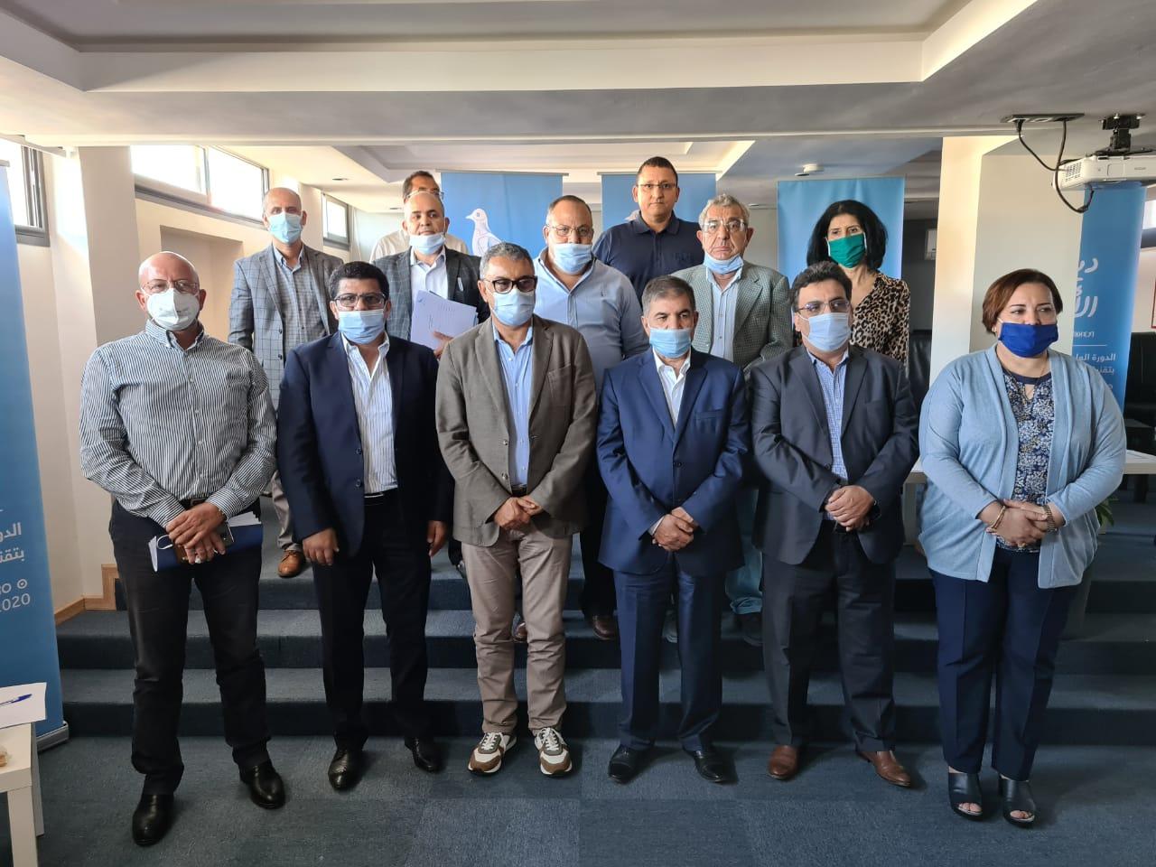 """صورة عبر تقنية الفيديو .. """"أحرار أكادير"""" يشاركون في دورة المجلس الوطني"""