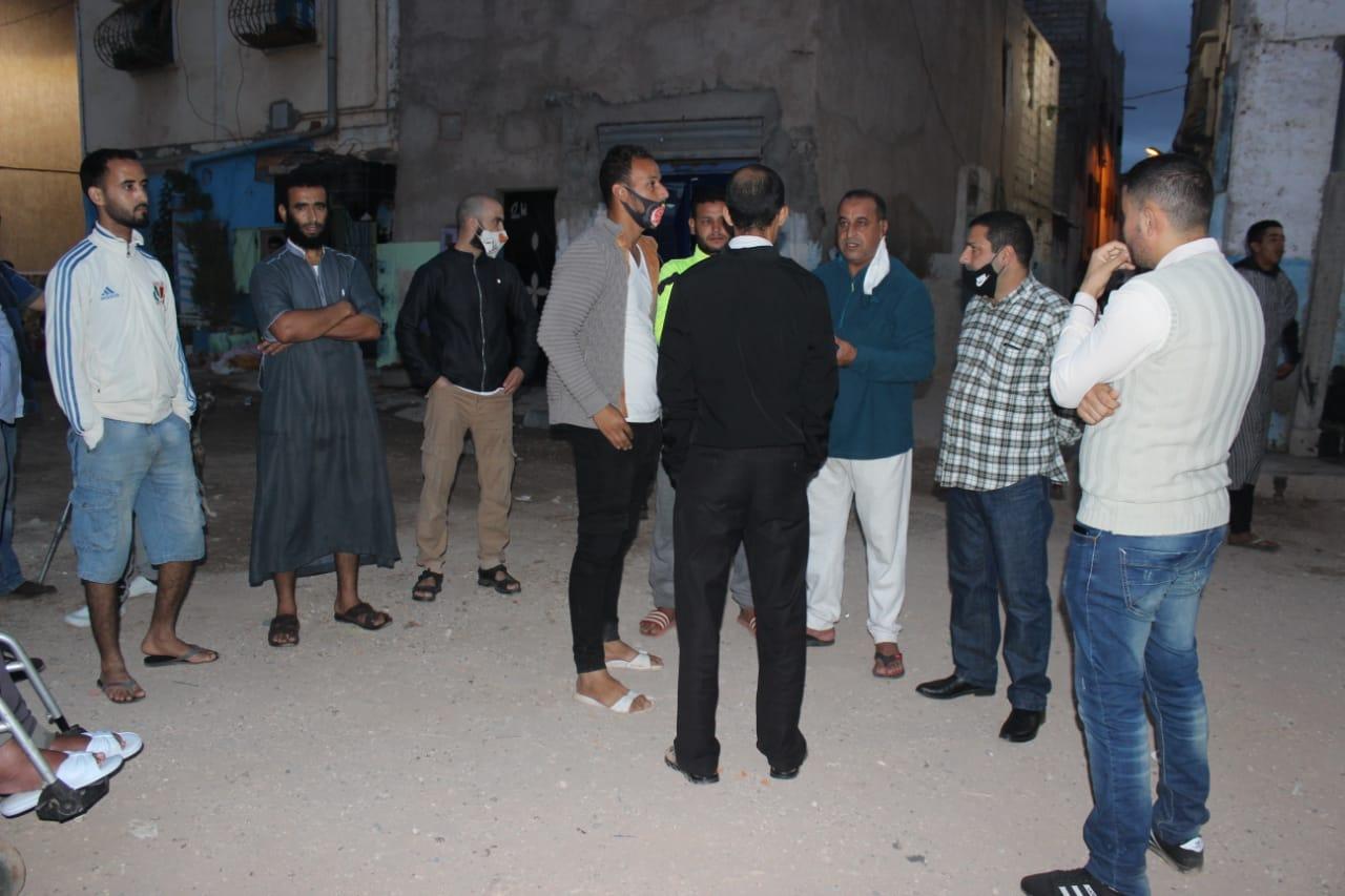 صورة إنزكان | معانات ساكنة حي السلام الجرف من قنوات الصرف الصحي