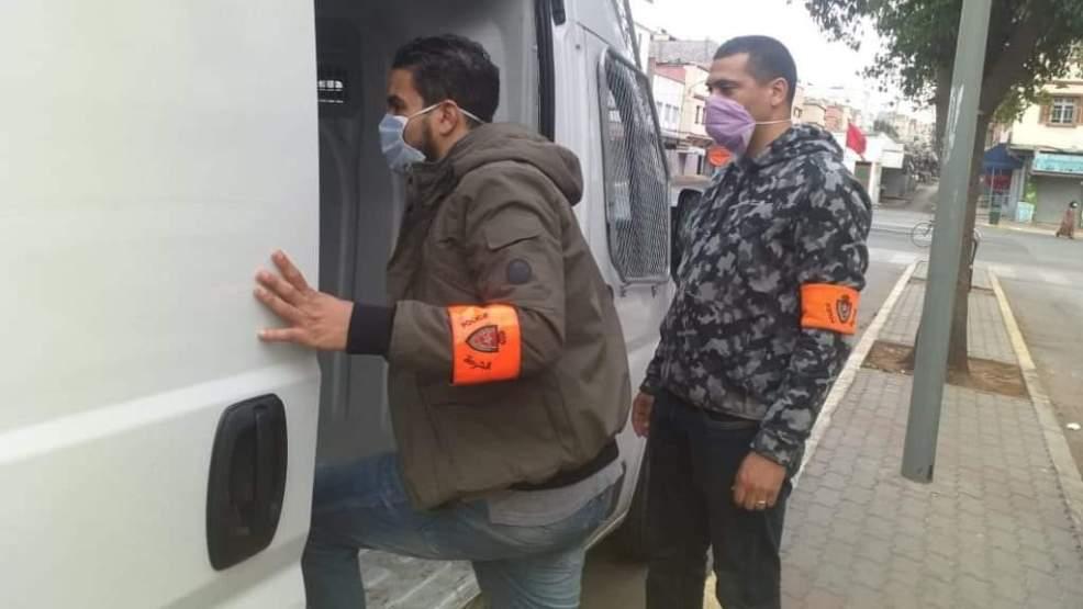 صورة توقيف شقيقين متورطين في جريمة قتل بتارودانت