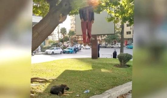 صورة إنتحار أربعيني شنقا بإحدى حدائق طنجة