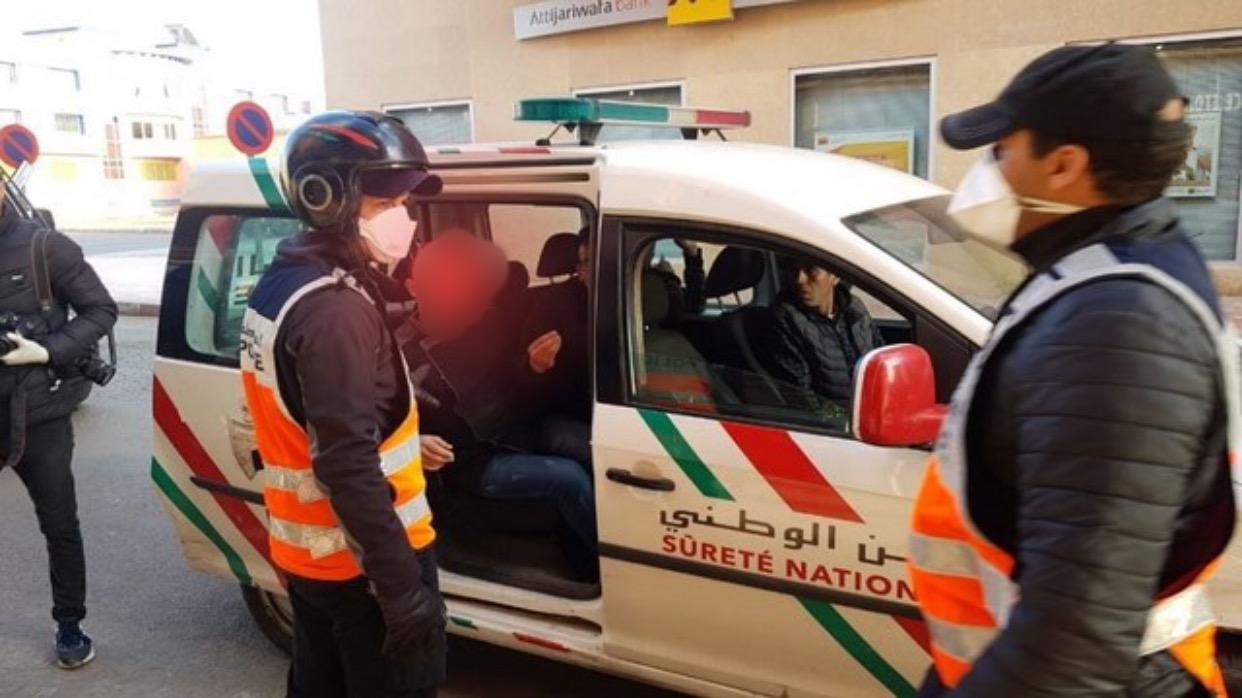 صورة سقوط نصاب خطير احتال على عامل وباشا ومسؤولين أمنيين