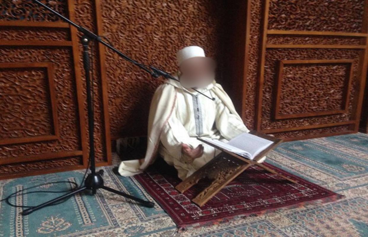 صورة إصابة الإمام بكورونا تغلق مسجد الإسراء و المعراج بالدار البيضاء