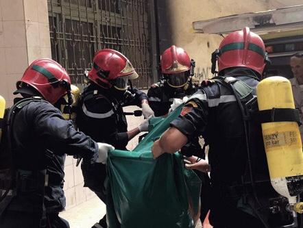 صورة العثور على جثة متحللة لمدرس داخل شقته بأكادير