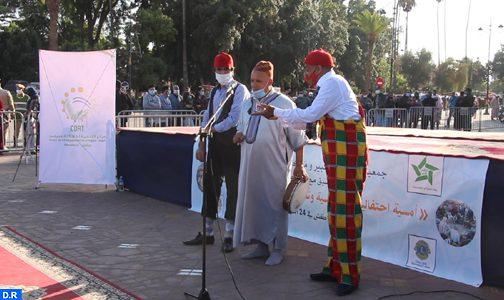 صورة مراكش   فنانون يعيدون الحياة إلى ساحة جامع الفنا