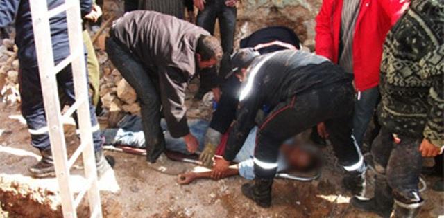 صورة مصرع عامل في ورشة بناء ضواحي أكادير