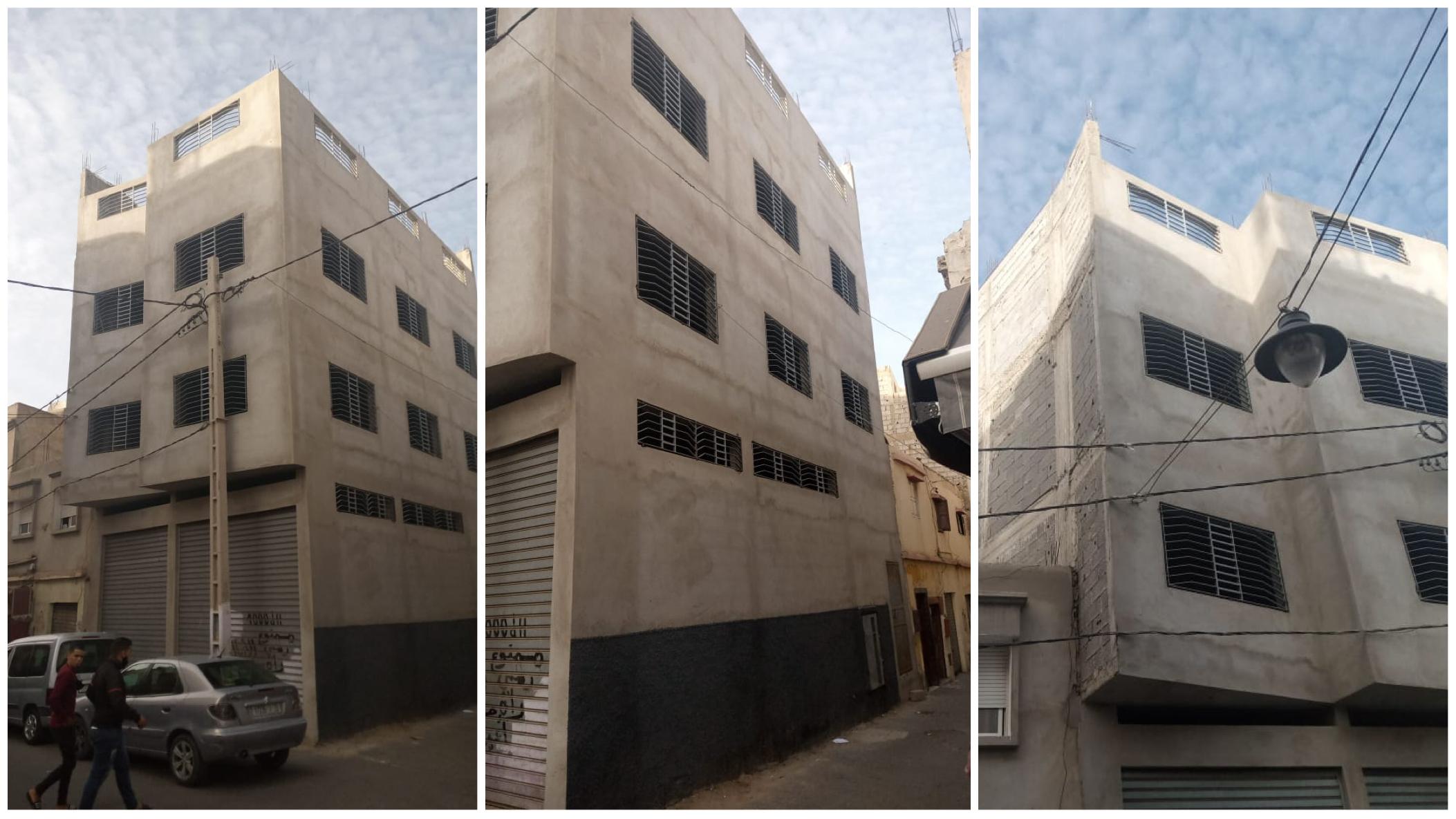 صورة رفض المحافظة العقارية يفضح صرحا معماريا مشبوها بإنزكان
