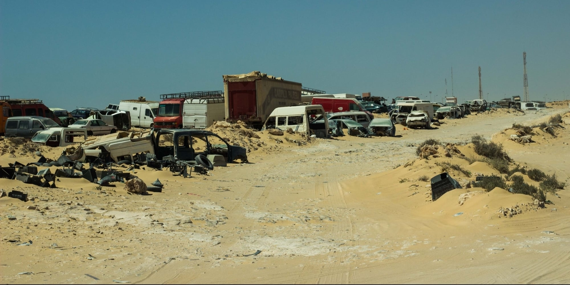 صورة المغرب يمهل 600 عربة 48 ساعة لإخلاء معبر الكركرات