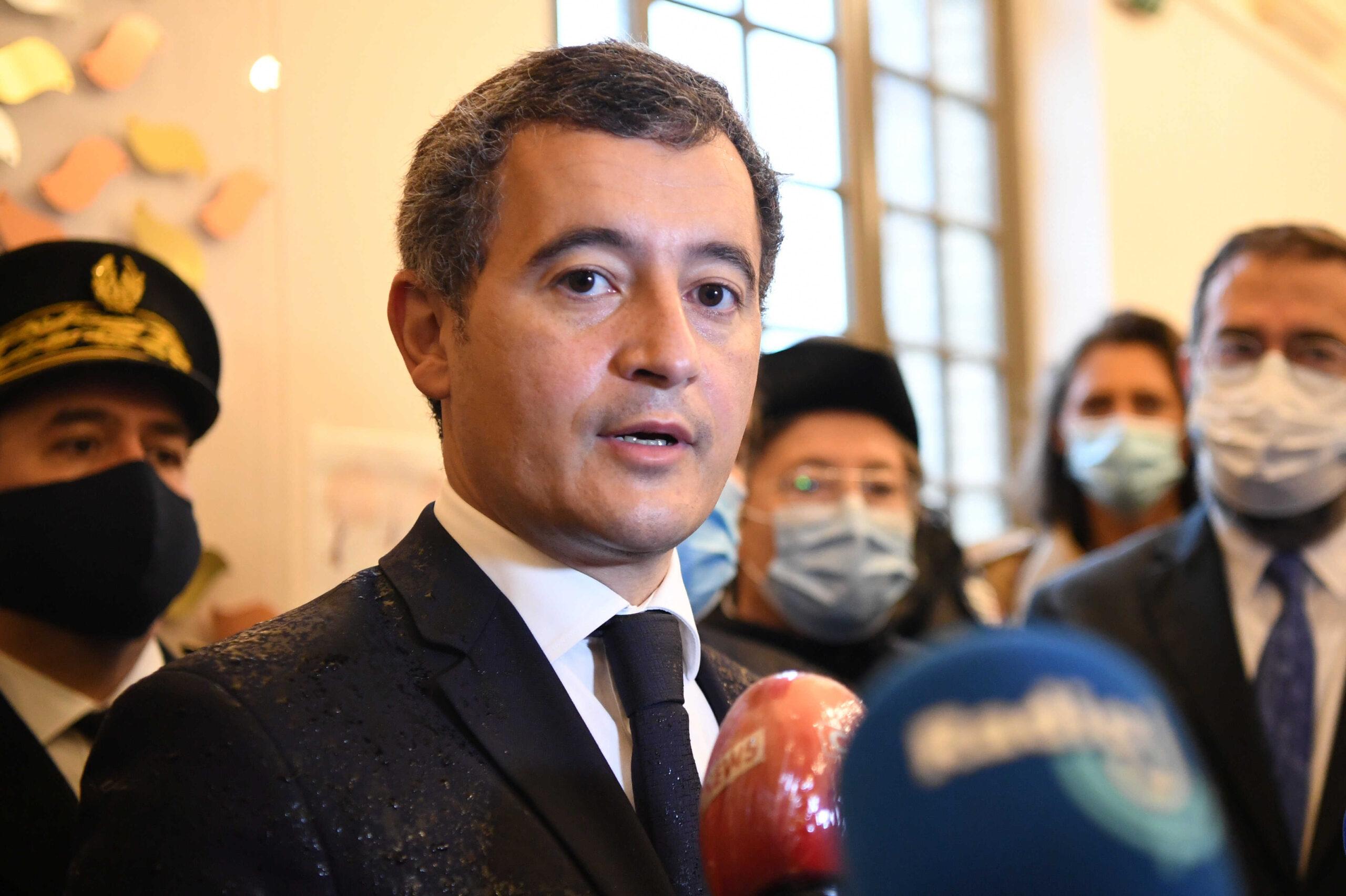 """صورة وزير الداخلية الفرنسي: نحن بحاجة إلى قانون لمحاربة """"الإسلاموية"""" وليس الإرهاب"""