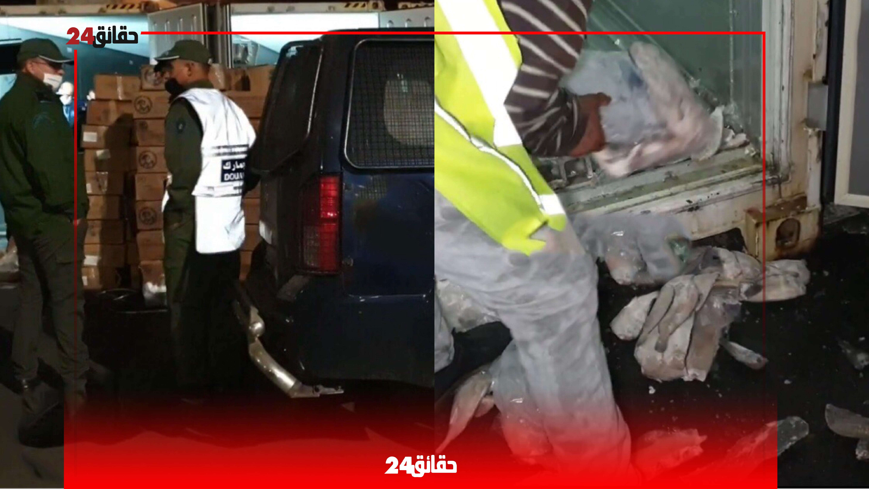 صورة تفاعلات سريعة في دوائر الأمن والقضاء مع المتهمين بتهريب شحنة مخدرات بميناء أكادير