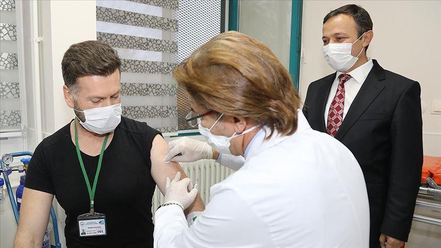 """صورة تركيا .. إجراء أول تجربة للقاح محلي مضاد لـ"""" كورونا"""""""