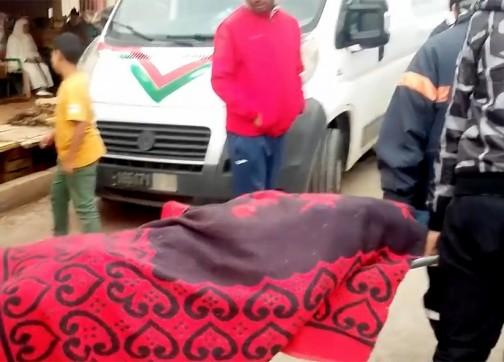 صورة العثور على جثة خمسيني بتطوان