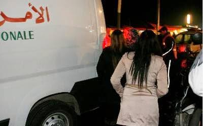 صورة قصارة بفيلا تنتهي باعتقال 52 شخصا من جنسيات مختلفة