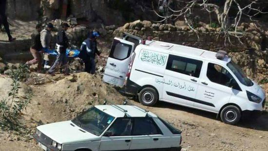 صورة وفاة شاب سقط في كهف عميق نواحي شفشاون