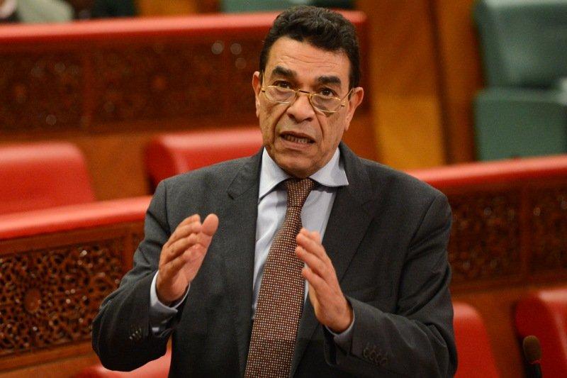صورة الوزير السابق محمد الوفا في ذمة الله
