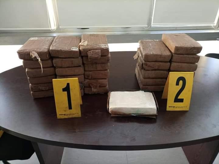 صورة طنجة .. إجهاض محاولة لتهريب 35 كلغ من الكوكايين الخام بتعاون مع مكتب مكافحة المخدرات بالولايات المتحدة