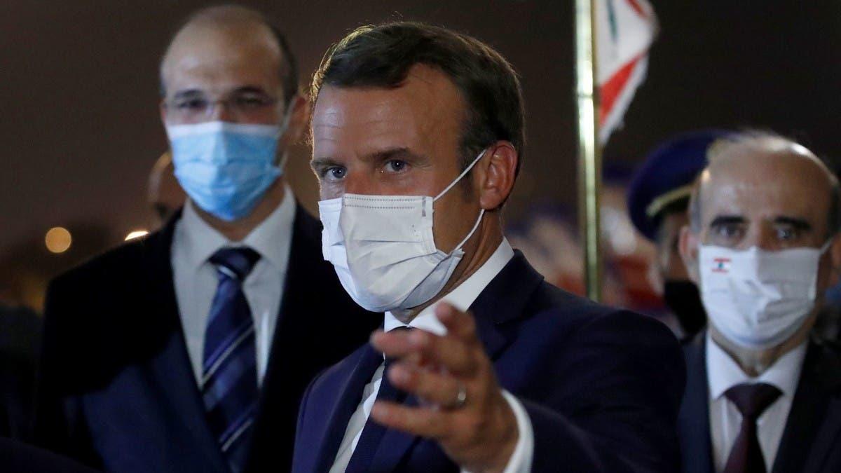"""صورة ماكرون يُعلن عن حملة تلقيح عامة ضد فيروس """"كورونا"""""""